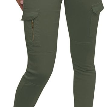 Elite Jeans Skinny Cargo Pant With Zipper Jeans