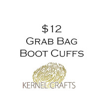 Boot Cuffs Grab Bag -Sample Sale, Mystery Box - One Crochet Adroble Leg Warmers At a Discounted Price - Surprise Gift