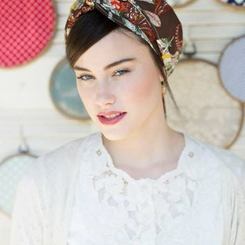 Uri Earth Tones Head Covering