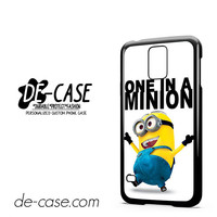 One In A Minion Despicable Me For Samsung Galaxy S5 Case Phone Case Gift Present