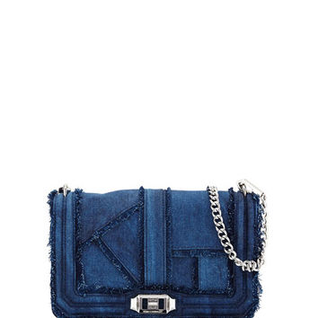 Rebecca Minkoff Love Denim Crossbody Bag, Denim
