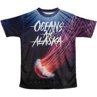Oceans Ate Alaska Men's  Lost Isles Sublimation T-shirt Black