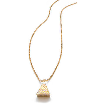 NV Chains Temple Gold Necklace