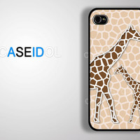 Case iPhone 4 Case iPhone 4s Case iPhone 5 Case S3/S4 idea case graphic case animal case giraffe case CaseiPhone iPhonecase