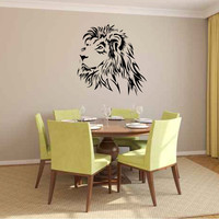 Lion Vinyl Wall Decal Sticker Graphic