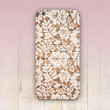 Wood Lace Print Phone Case For - iPhone 6 Case - iPhone 5 Case - iPhone 4 Case - Samsung S4 Case - iPhone 5C - Tough Case - Matte Case