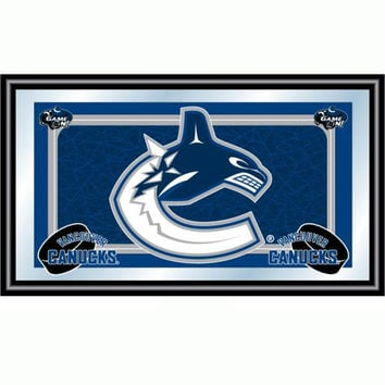 NHL Vancouver Canucks Framed Team Logo Mirror