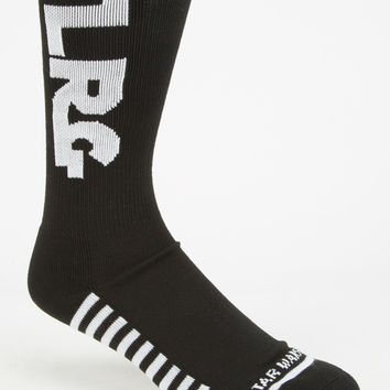 Lrg X Star Wars Mens Socks Black One Size For Men 26874510001
