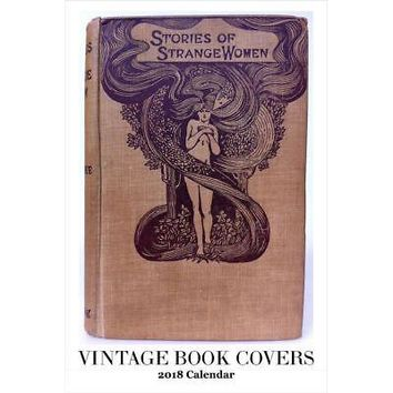 Vintage Book Covers Poster Calendar, Literature by Retrospect Group