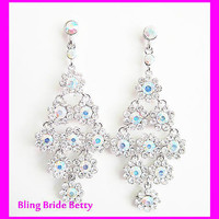 Elegant Chandelier Bridal Earrings