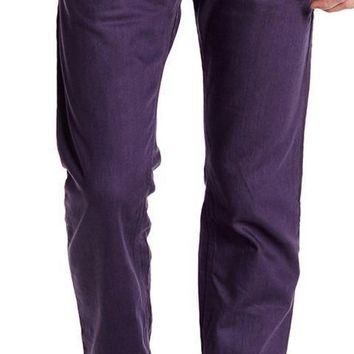 New with Tags - Diesel Darron Purple Straight Leg Men's Jeans