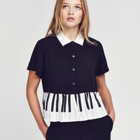 Lazy Oaf Piano Shirt - View all - NEW IN - Womens