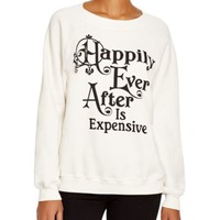 WILDFOX Happily Ever After Printed Sweatshirt | Bloomingdales's