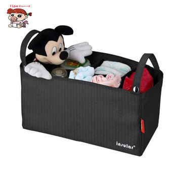 3 Colors Baby Stroller Bag Medium Size Nappy Multi-functional Waterproof Diaper Bag Mommy