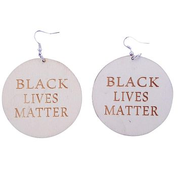 Black Lives Matter earrings | Natural hair earrings | Afrocentric earrings | jewelry | accessories