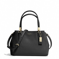 MADISON MINI CHRISTIE CARRYALL IN SAFFIANO LEATHER