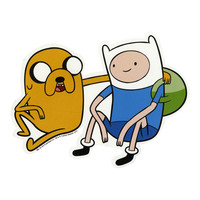 Adventure Time Finn & Jake Car Magnet