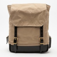 Southern Field Industries / Waxed Canvas Rucksack
