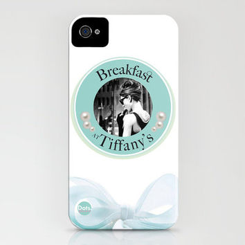 Audrey Hepburn - Breakfast at Tiffany's iPhone Case by Dots Studio | Society6