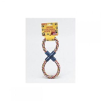 Figure 8 Multi-colored Rope Dog Toy DI058