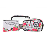 Disney Alice in Wonderland 3-Piece Makeup Bag