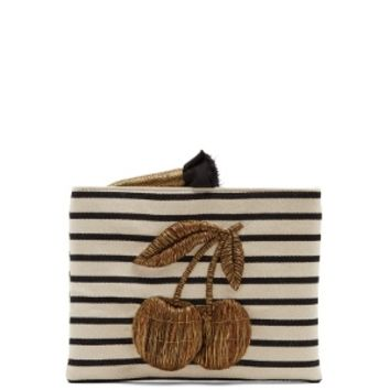 Ciliega embroidered canvas clutch | Sanayi 313 | MATCHESFASHION.COM US
