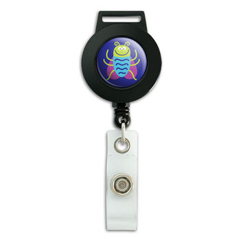 Cute Bug Beetle Insect Retractable Badge Card ID Holder