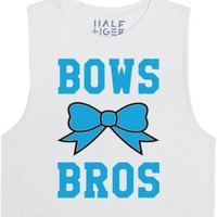 Bows Over Bros-Unisex Snow T-Shirt