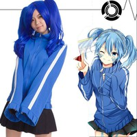 Beauty Ticks Kagerou Project Mekakucity Actors Ene Takane Enomoto Hoodie Skirt Cosplay Jacket Uniform Cosplaycosplay Costume Two-piece Set