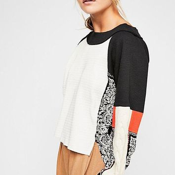 Women's Free People Josie Colorblock Thermal Top