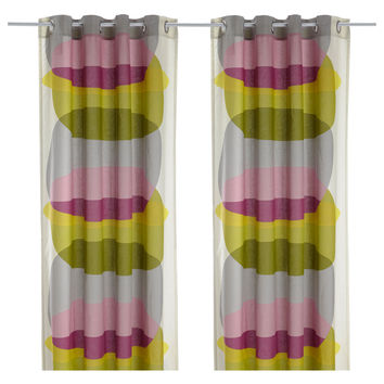 MALIN FIGUR Curtains, 1 pair - IKEA