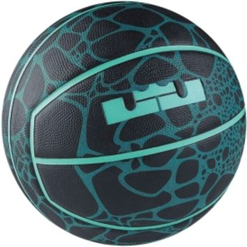 "Nike Lebron XII Playground Official Basketball (29.5"") - Blue/Green 