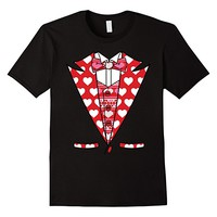 Valentines Day Tuxedo Heart Tux Ugly Sweater T-Shirt