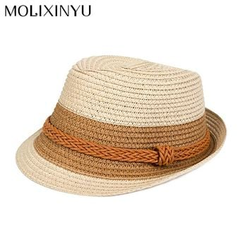 MOLIXINYU Toddler Infant Boys Sun Cap For Baby Summer Outdoor Hat Baby Boys Hats Children Beach Jazz Cap Boys Kids Bucket Hat