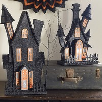 Light Up Haunted Houses | Pottery Barn Kids