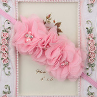 Baby Girl Flower Head Bands
