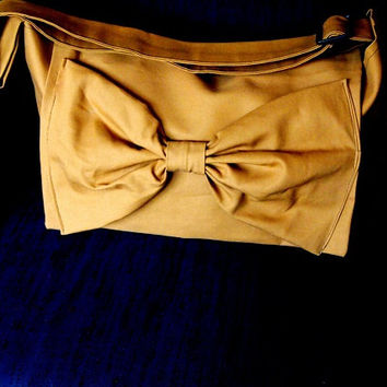 Handmade Adjustable strap laptop book bag Messenger bag in tan Color Options avaliable