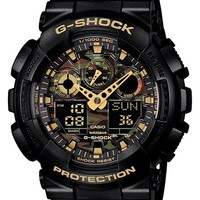 Men's G-Shock XL Camouflage Pattern Ana-Digi Watch, 55mm x 51mm - Black/ Camo