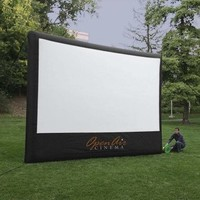 Open Air Cinema 16-feet Outdoor Home Projector Screen