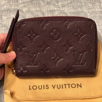 Authentic Louis Vuitton Compact Secret Empriente Wallet