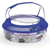 Aquarium & Pet Amphibian Lagoon with Lid Lagoon Round