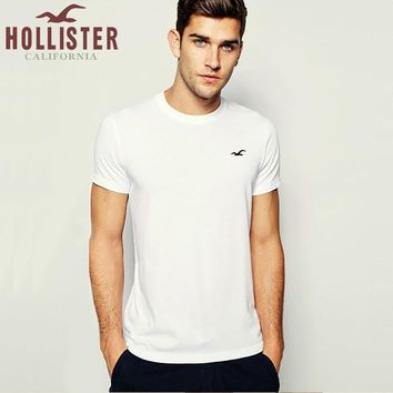 New Hollister California Mens Shirt Sleeve T shirt 100% COTTON TOP