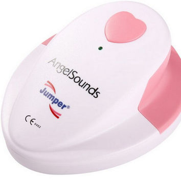 Angelsounds Portable Doppler Pocket Ultrasound Baby Heart Rate Monitor FDA