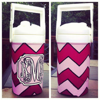 Custom 1/2 Gallon Hand Painted Cooler by SweetHomeSouthern on Etsy