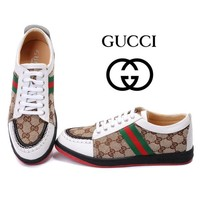 Gucci Unisex Fashion Cool Edgy Sneakers Sport Shoes