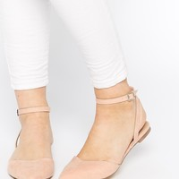 ASOS LUMBA Pointed Two Part Ballets