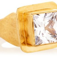 Square Cubic Zirconia Ring, Stone & Novelty Rings
