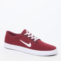 Nike SB Portmore Solid Canvas Shoes - Mens Shoes