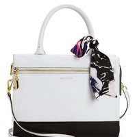 Castaway Couture Leather Satchel by Juicy Couture
