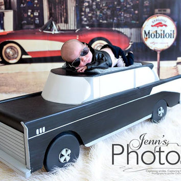 PJ's 57' Chevy Prop Newborn, Infant photography prop car